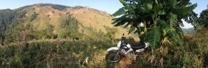 dirt bike hill